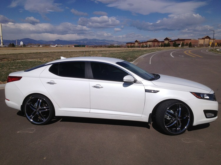 2013 kia optima with white rims kia optima inspirations pinterest white rims and kia optima. Black Bedroom Furniture Sets. Home Design Ideas