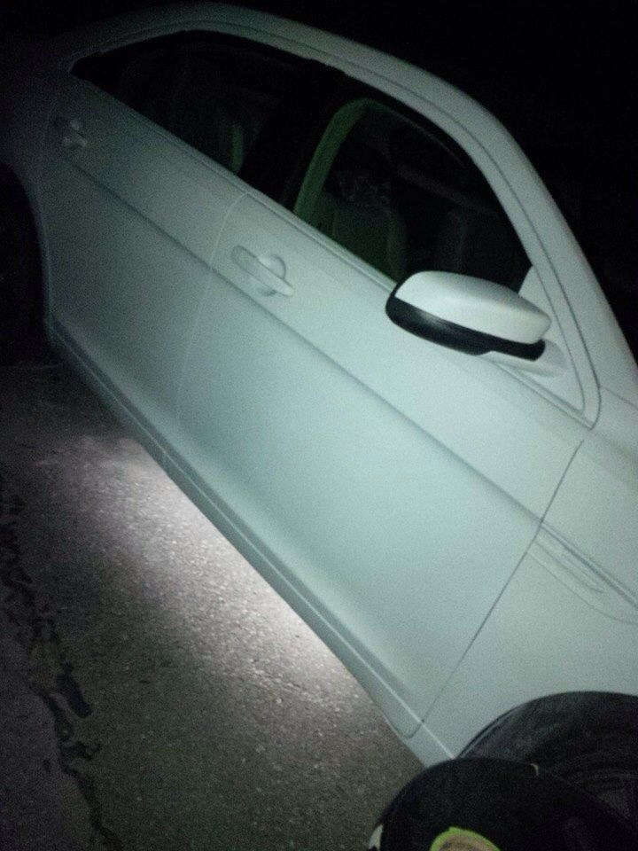 painted my car matte white with matte black hood and roof  - 16308117