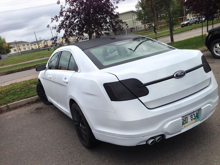 painted my car matte white with matte black hood and roof  - 16308118