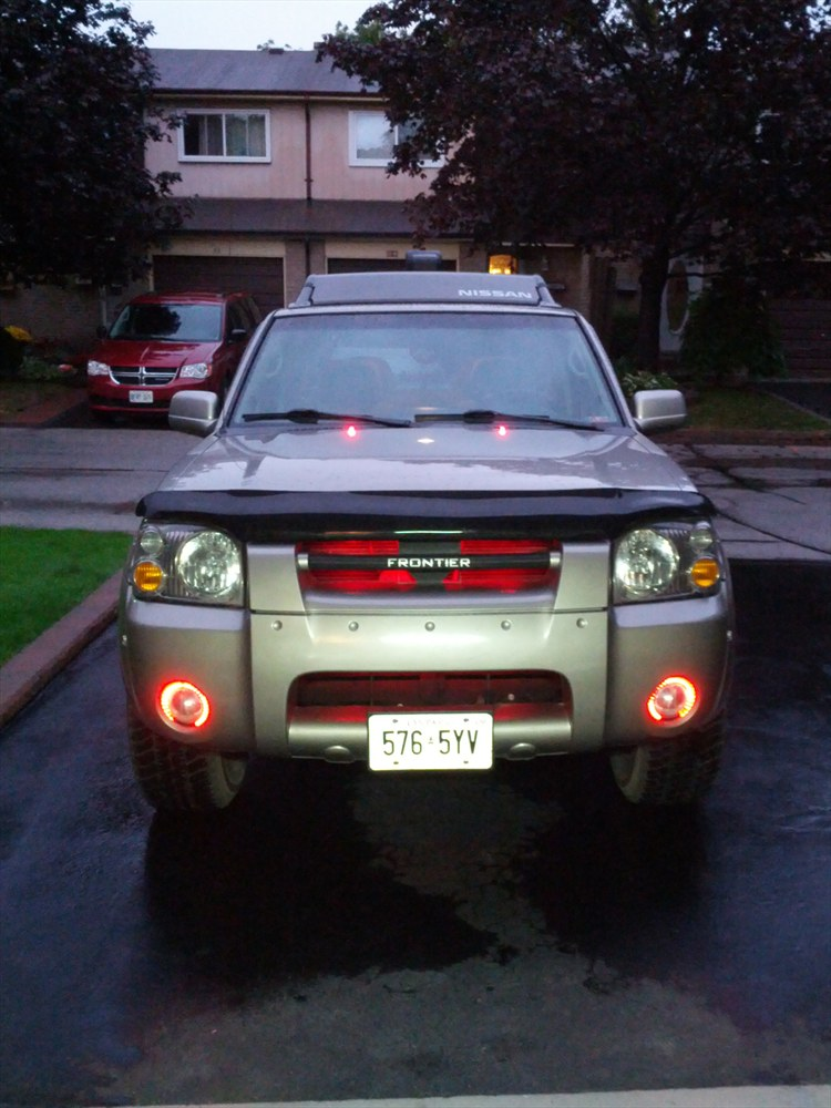 IRONMAN_321 2004 Nissan Frontier Crew Cab
