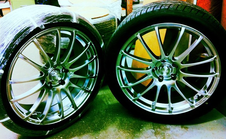 i painted my rims AGAIN!!!! - 16331235