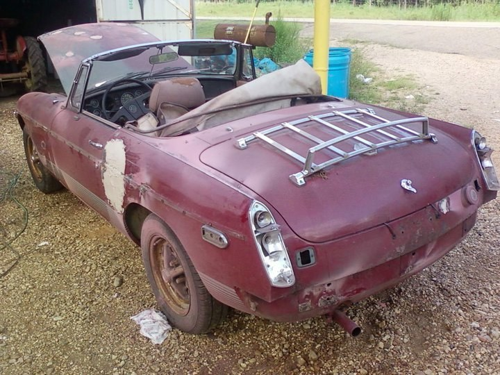 MG-B there in a jiffy - 16202255