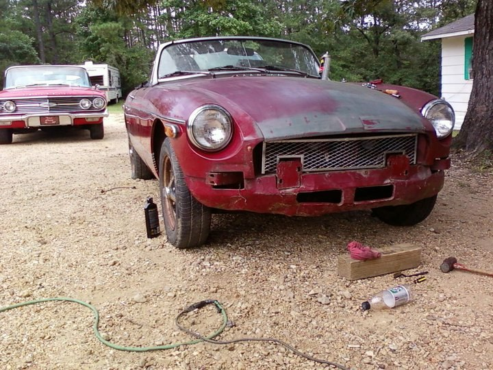 MG-B there in a jiffy - 16202256