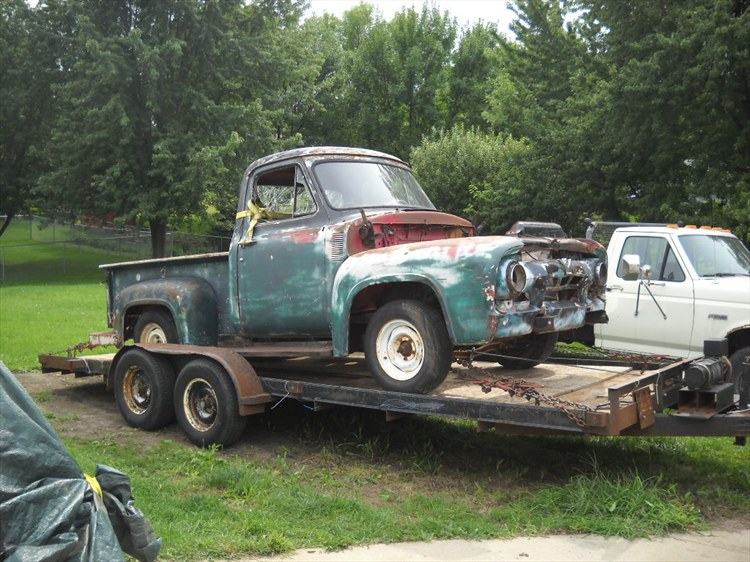 Fordman75 1954 Ford F150 Super Cab 16158251