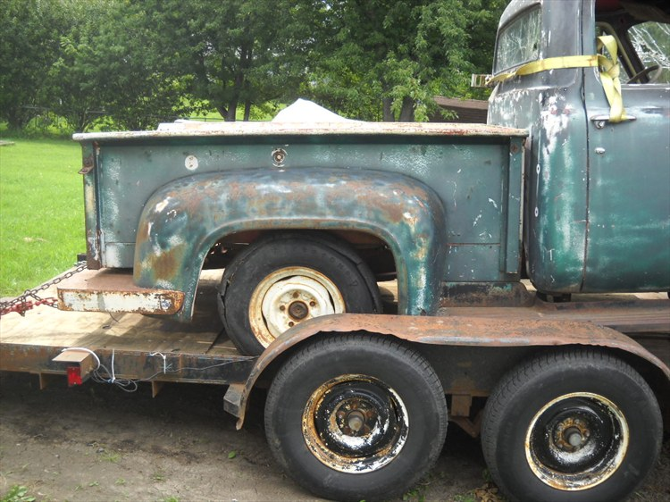 Fordman75 1954 Ford F150 Super Cab 16158252