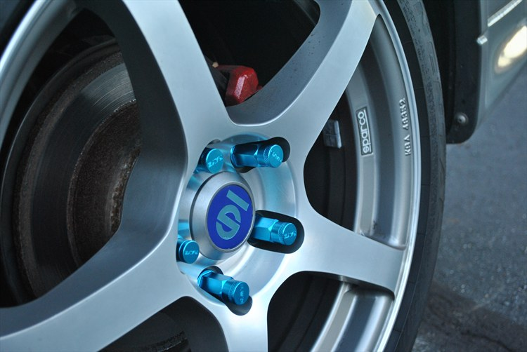 Putting back my Sparco rims and RAYS nuts - 16331362