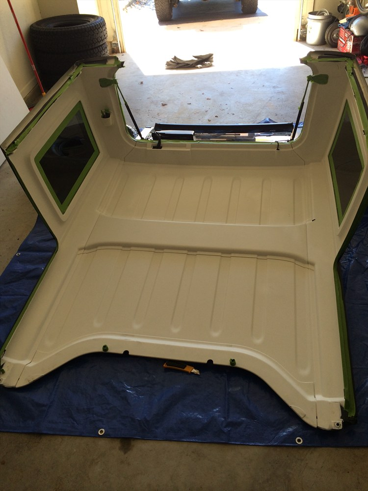 Painted Inside of Hardtop - 16351328
