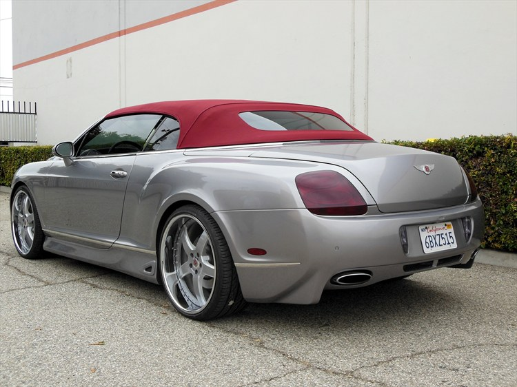 West Coast Motorsport 2009 Bentley Continental Gt Specs
