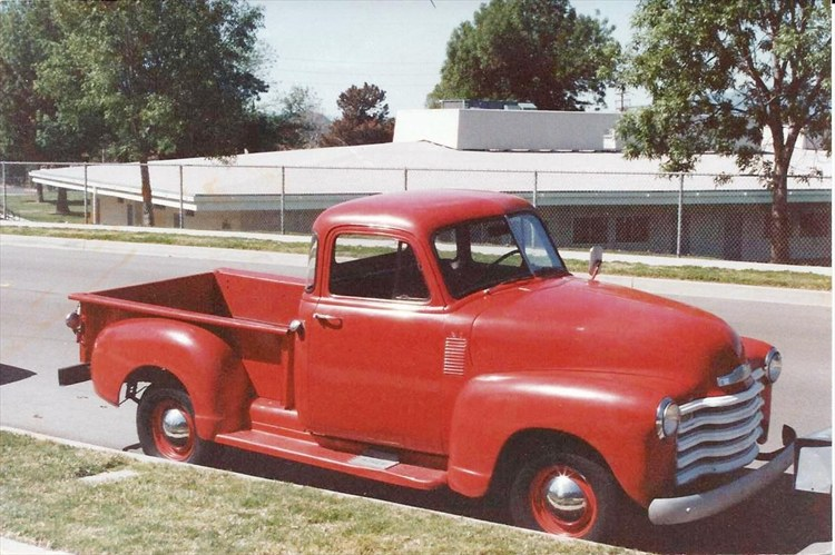 I restored this old truck and enjoyed every nut & bolt.  RIP Old Red - 16192392