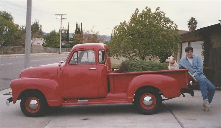 I restored this old truck and enjoyed every nut & bolt.  RIP Old Red - 16192393