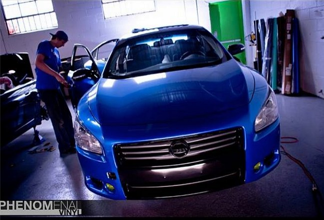 Another wrapped maxima 2009 Nissan Maxima post... - 16224332