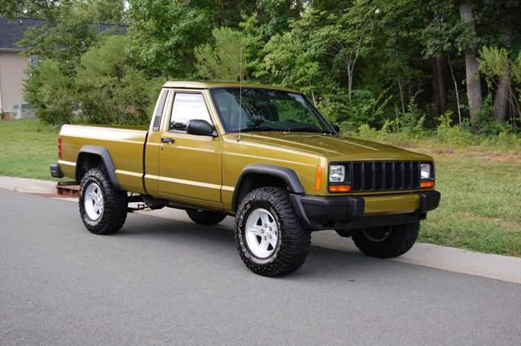 Rymanrph S 1990 Jeep Comanche Regular Cab Short Bed In