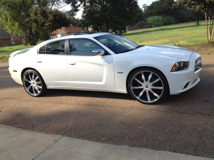mckinneyboi662s 2012 dodge charger - White Dodge Charger