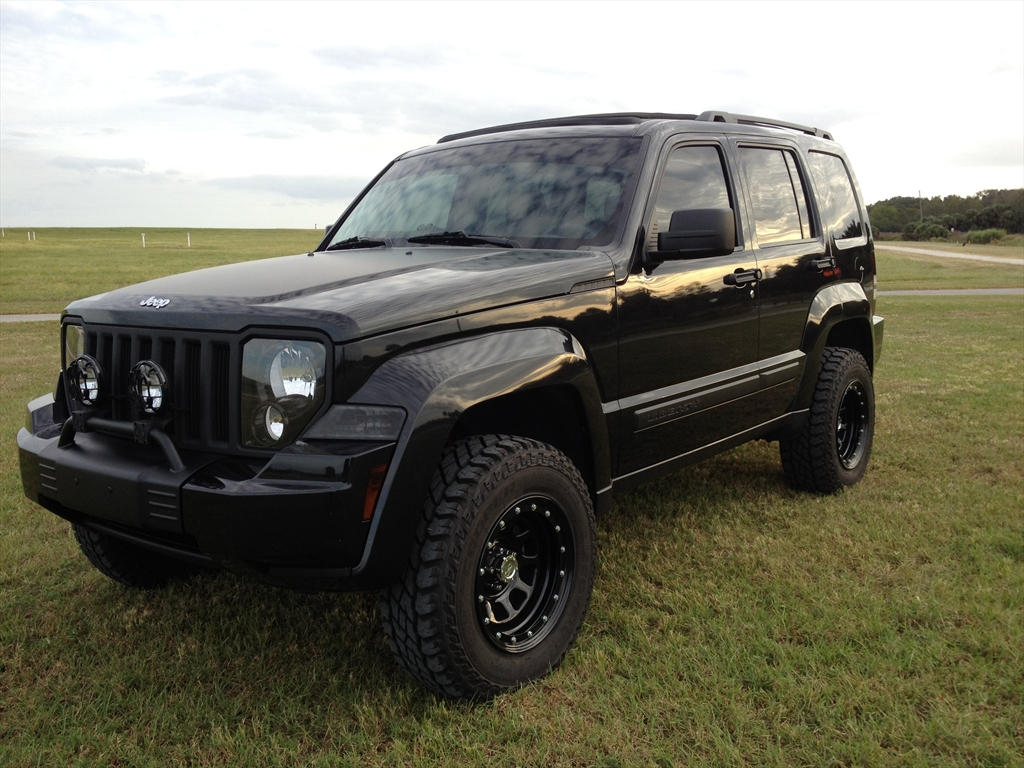 Tricked Out 2008 Jeep Liberty