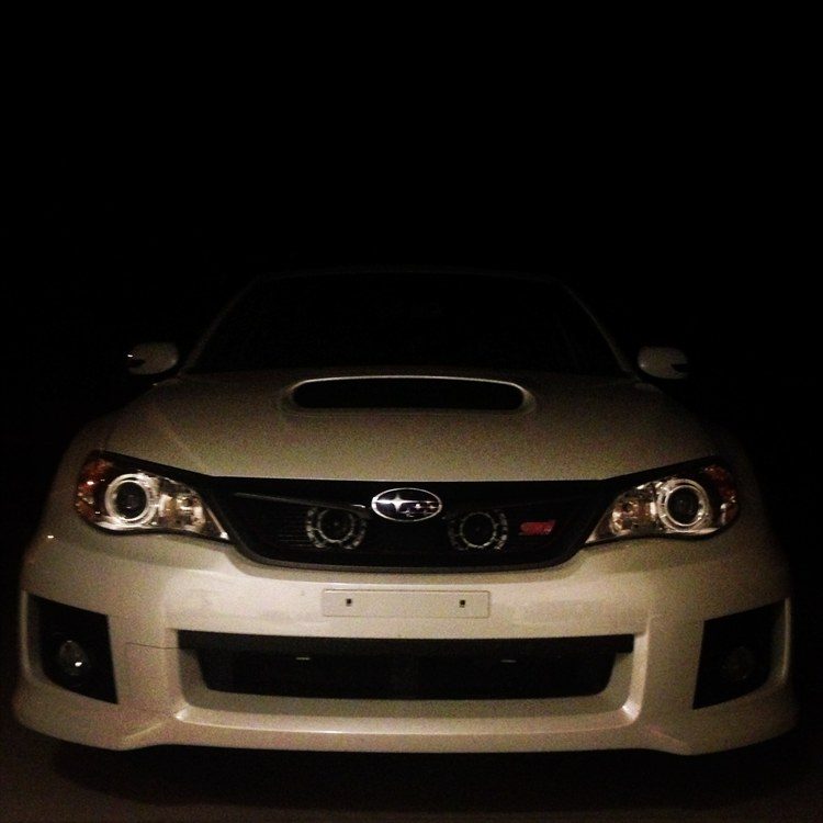 White Super Hella Tones and Blacked Out Side Vents and Fog Light Vent - 16242434
