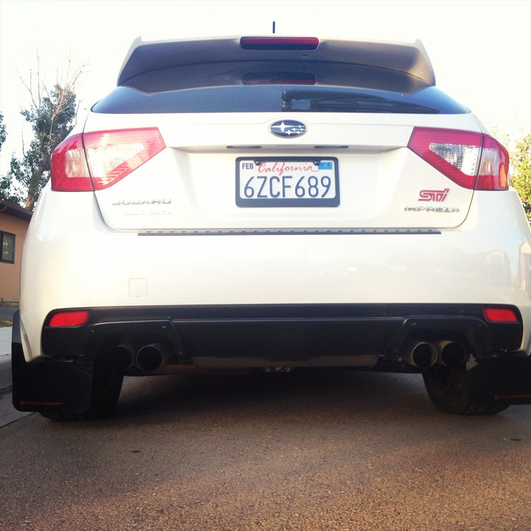 Black Rally Armor Mudflaps Red Lettering - 16242418
