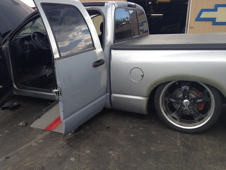 My Wheelchair Accessible Bagged 2004 Hemi Dodge Ram on 22's - 16305461