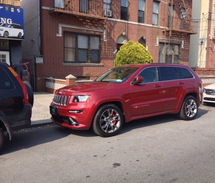 SRT86A4EVR 2012 Jeep Grand Cherokee