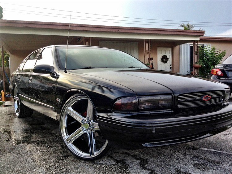 1996 Impala Ss On 24 Quot Iroc Wheels 44229 By Dunkryder