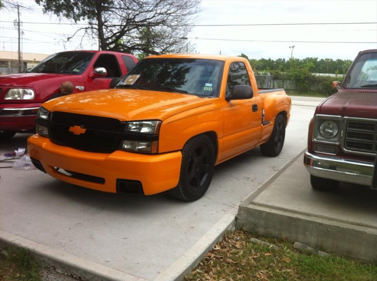 Another OrangeChevy03 2003 Chevrolet Silverado 1500 Regular Cab post... - 16192528