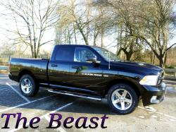 Custom'87 2012 Dodge Ram 1500 Quad Cab
