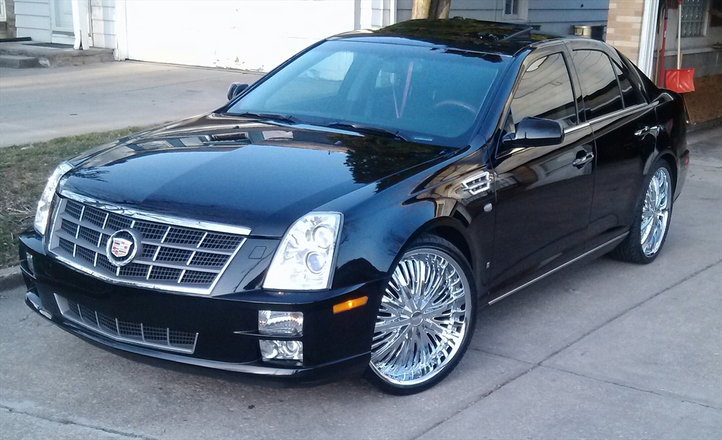 blackonblacklac 2008 cadillac sts specs photos. Black Bedroom Furniture Sets. Home Design Ideas