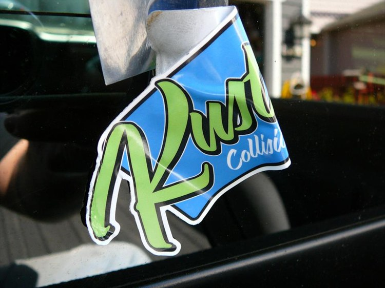 Taking Off the BS Decals from Kustom Collision and Rods - 16198565