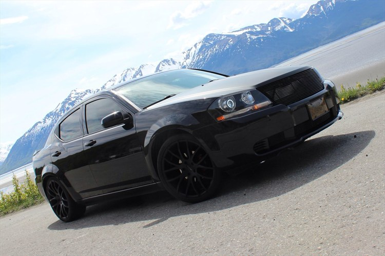 Blacked Out Dodge Avenger Pictures to Pin on Pinterest  PinsDaddy