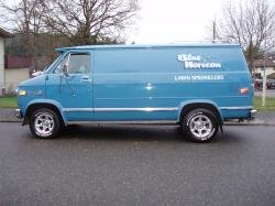 blue horizon 1979 GMC G-Series Van
