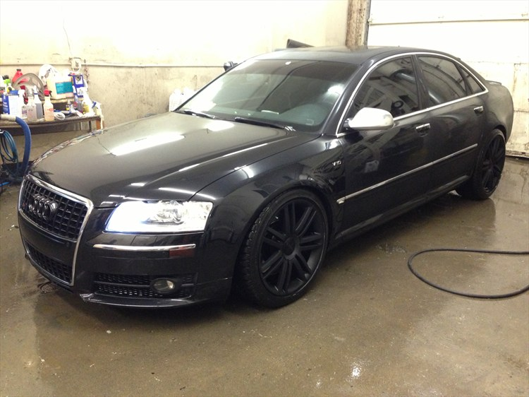 romanessa 2007 audi s8 specs photos modification info at cardomain. Black Bedroom Furniture Sets. Home Design Ideas