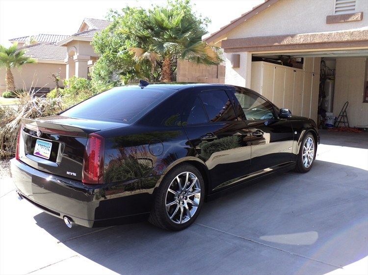 2006 cadillac sts v black wax experience publicscrutiny Image collections