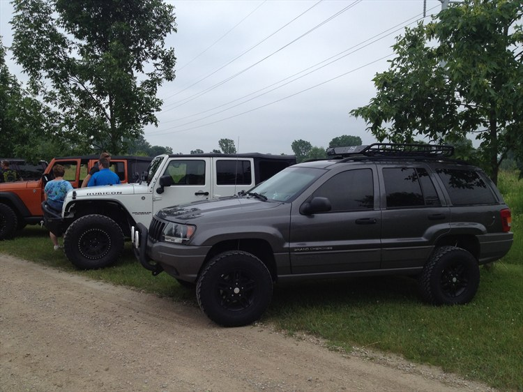 Lifted '02 WJ - 16314698
