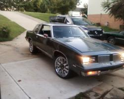 showdogg63 1985 Oldsmobile Cutlass Brougham