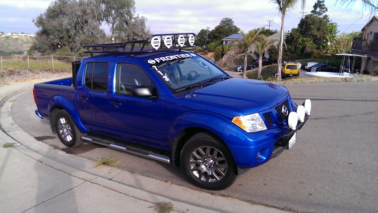 Beautiful My New Frontier Light Bar And Roof Rack