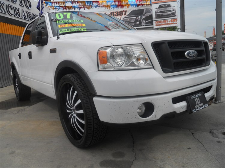 323AUTOEXCHANG 2007 Ford F150 SuperCrew Cab