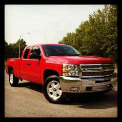 ahill1357 2012 Chevrolet 1500 Extended Cab