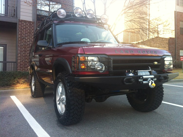 willrok13 2004 Land Rover Discovery Series II