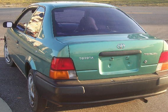 Toyota Tercel. Cheapest car I ever owned. - 16242746