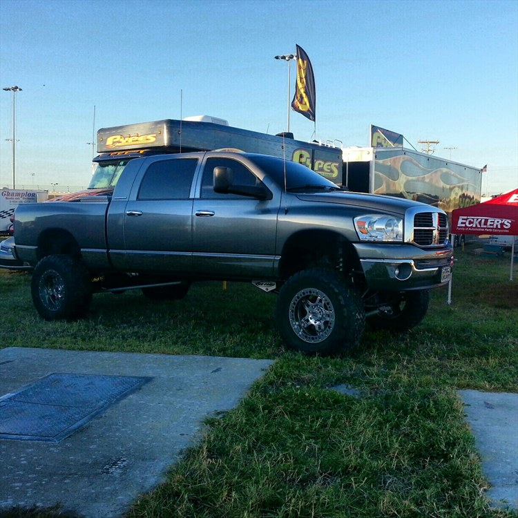 Rough Country 4wd Dodge Ram 2500 3500 Mega Cab 5 Lift: Alljackedup408 2007 Dodge Ram 2500 Mega CabSLT Pickup 4D 6