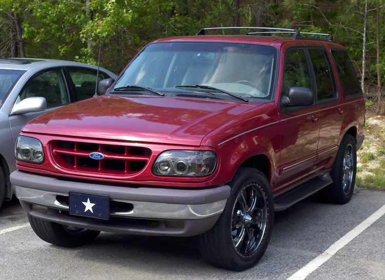 pimpnadx 1995 Ford Explorer