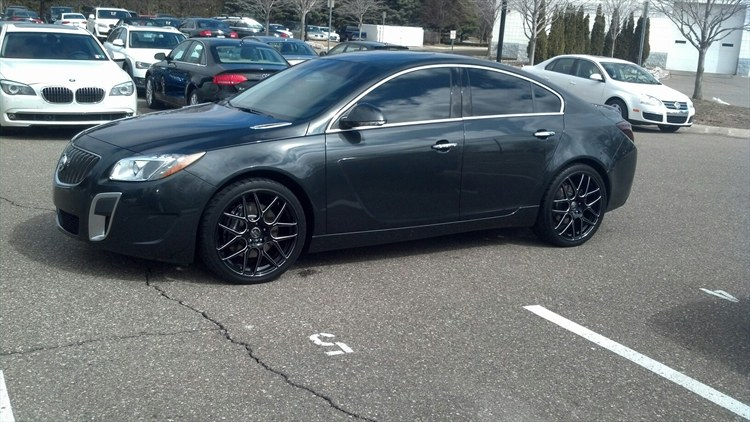 Ford Fusion Black Rims >> mikemobile 2013 Buick RegalGS-Sedan-4D Specs, Photos ...