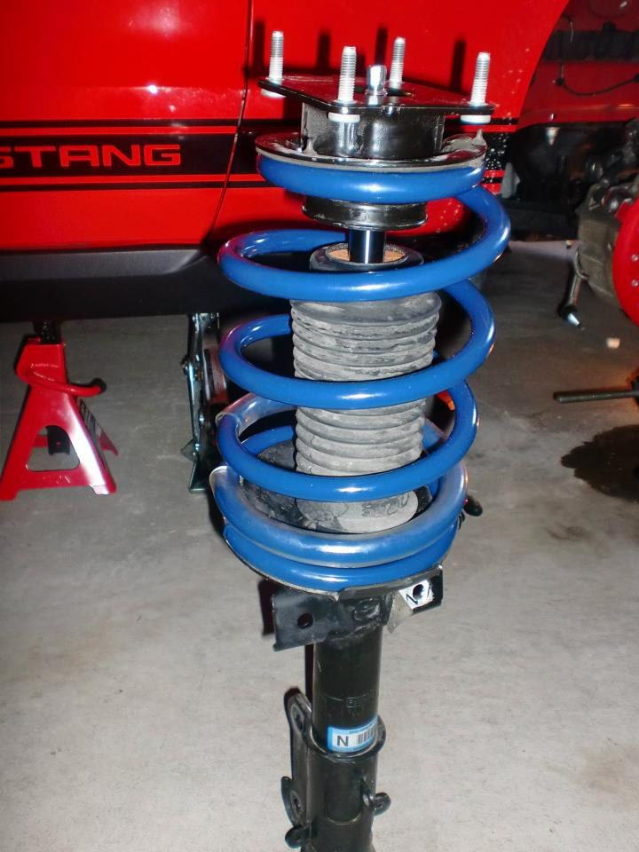 New springs installaion