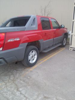 The Mammoths 2002 Chevrolet Avalanche 1500