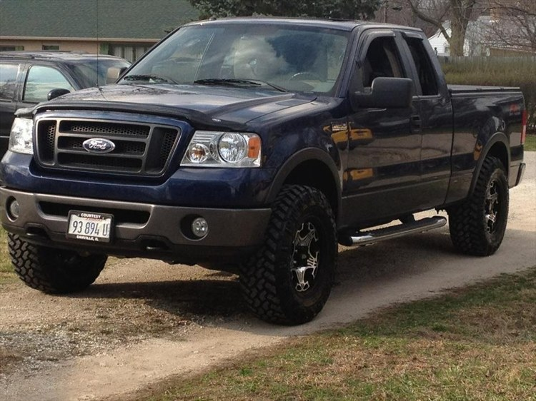mustangclaydog 2007 ford f150 super cabfx4 styleside pickup 4d 5 1 2 ft specs photos. Black Bedroom Furniture Sets. Home Design Ideas