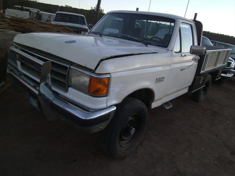 Taz our all around work truck 1989 Ford F250 4x4 - 16018772