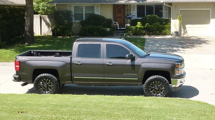 Jeffdginn 2014 Chevrolet Silverado 1500 Crew Cab Specs Photos Modification Info At Cardomain