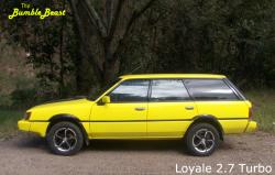 Loyale 27 Turbo 1985 Subaru GL