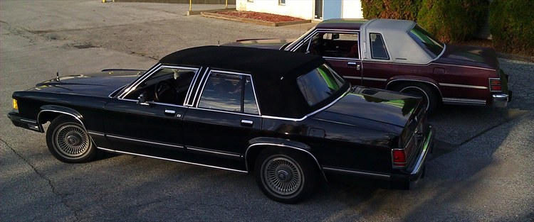 blkpnthr 1991 Mercury Grand-Marquis