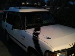 White Dogg 1996 Land Rover Discovery