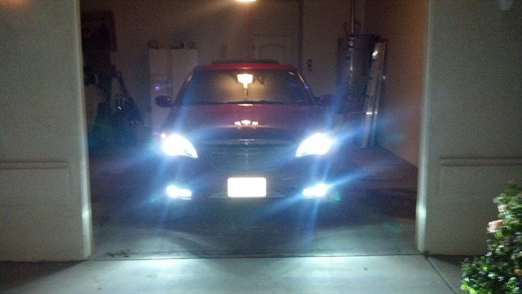 Kensun Xenon 6000k Head Light and Fog Light HID's with LED Accent Lights  - 16272829